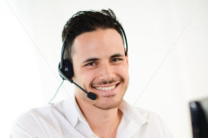 stock-photo-male translator on the phone-208737877